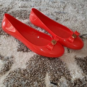 Tory Burch Shoes - Tory Burch Jelly Ballet Flats